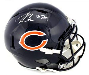 1a611b6131d Tarik Cohen Signed Chicago Bears Speed Full Size Helmet