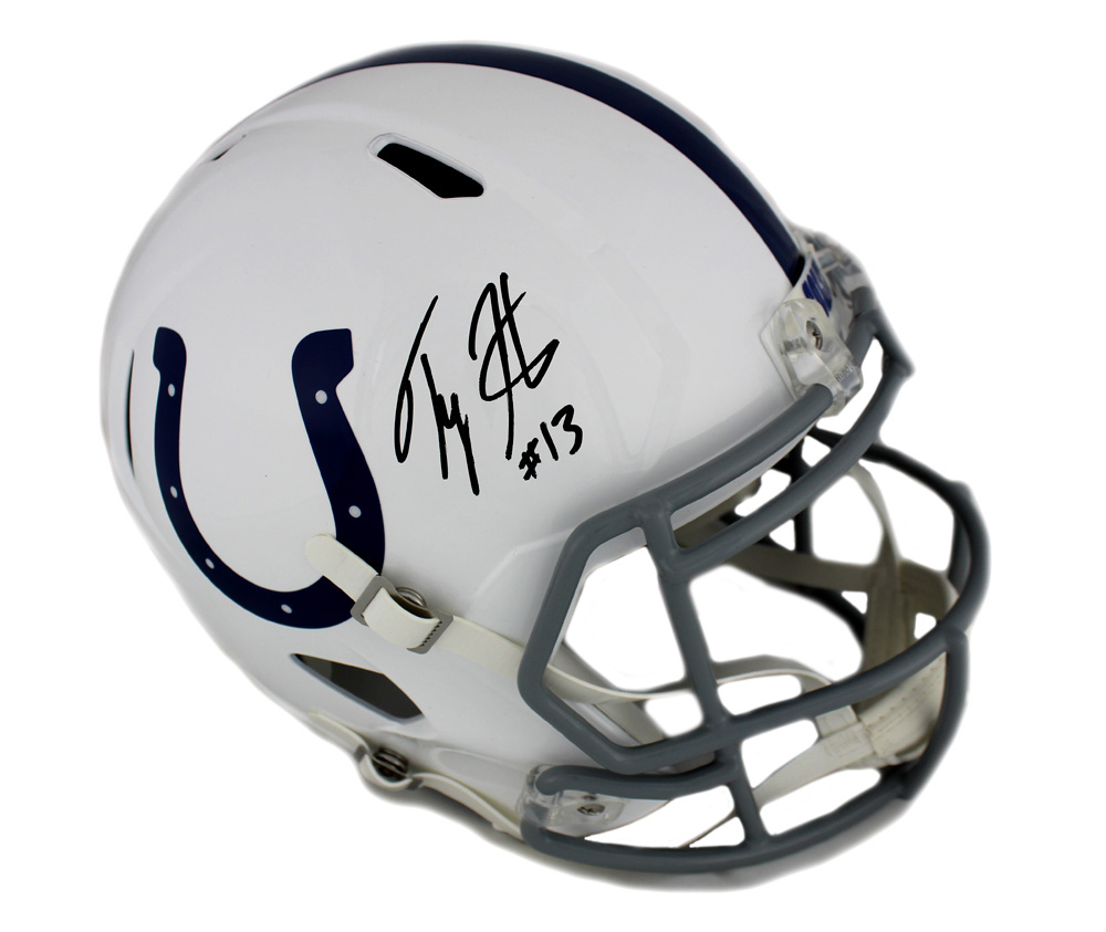 promo code c2603 35708 T.Y. Hilton Signed Indianapolis Colts Full Size Speed Helmet
