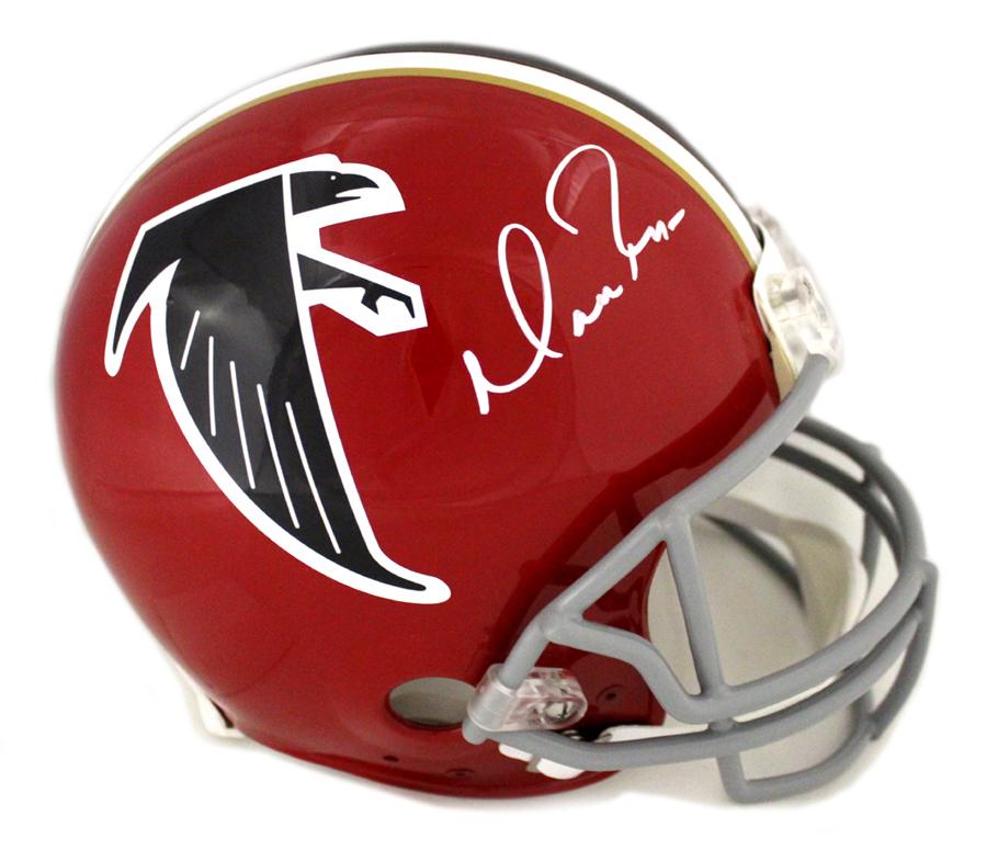 best loved 753f3 ec709 Matt Ryan Signed Atlanta Falcons Throwback Authentic NFL Red Helmet