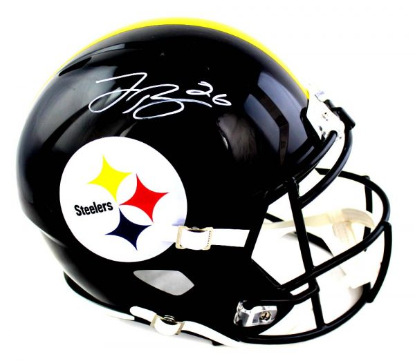 LeVeon Bell Signed Pittsburgh Steelers Speed Full Size NFL Helmet-0