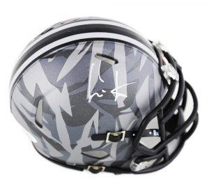 045a7016eda Cris Carter Signed Ohio State Buckeyes Speed Camo NCAA Mini Helmet