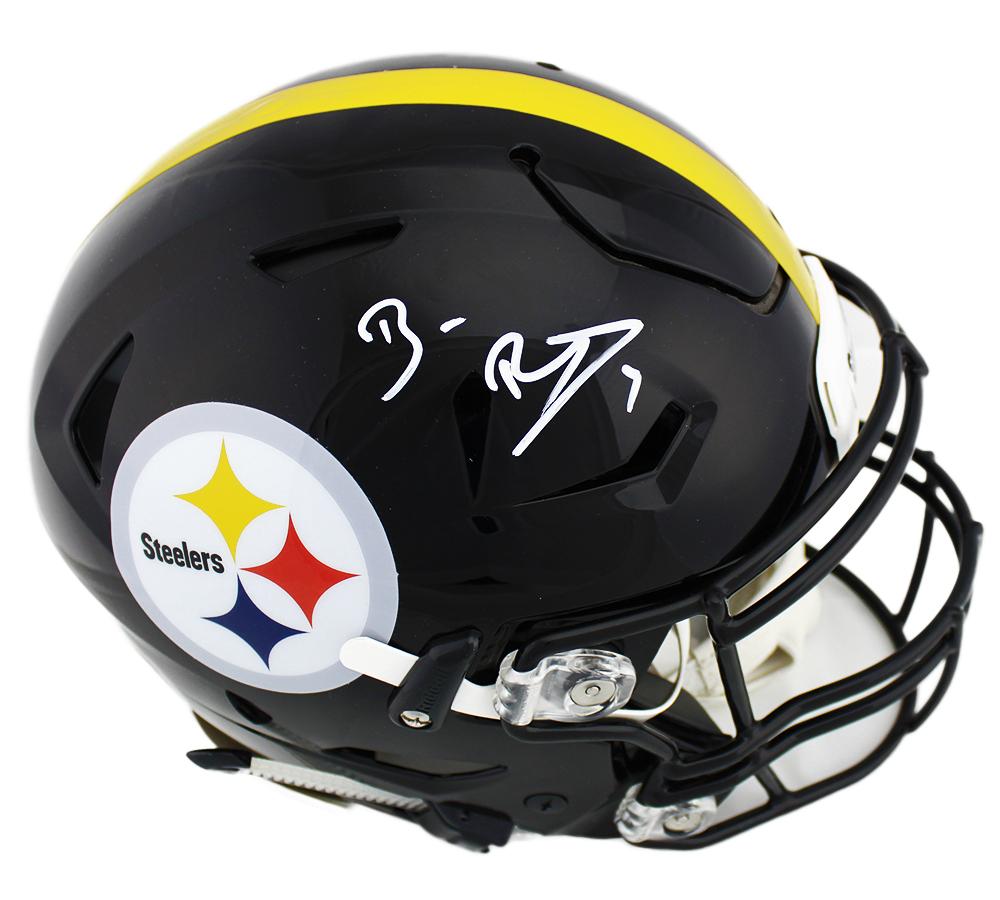 the best attitude 2d18c 1dd15 Ben Roethlisberger Signed Pittsburgh Steelers Speed Flex Authentic NFL  Helmet