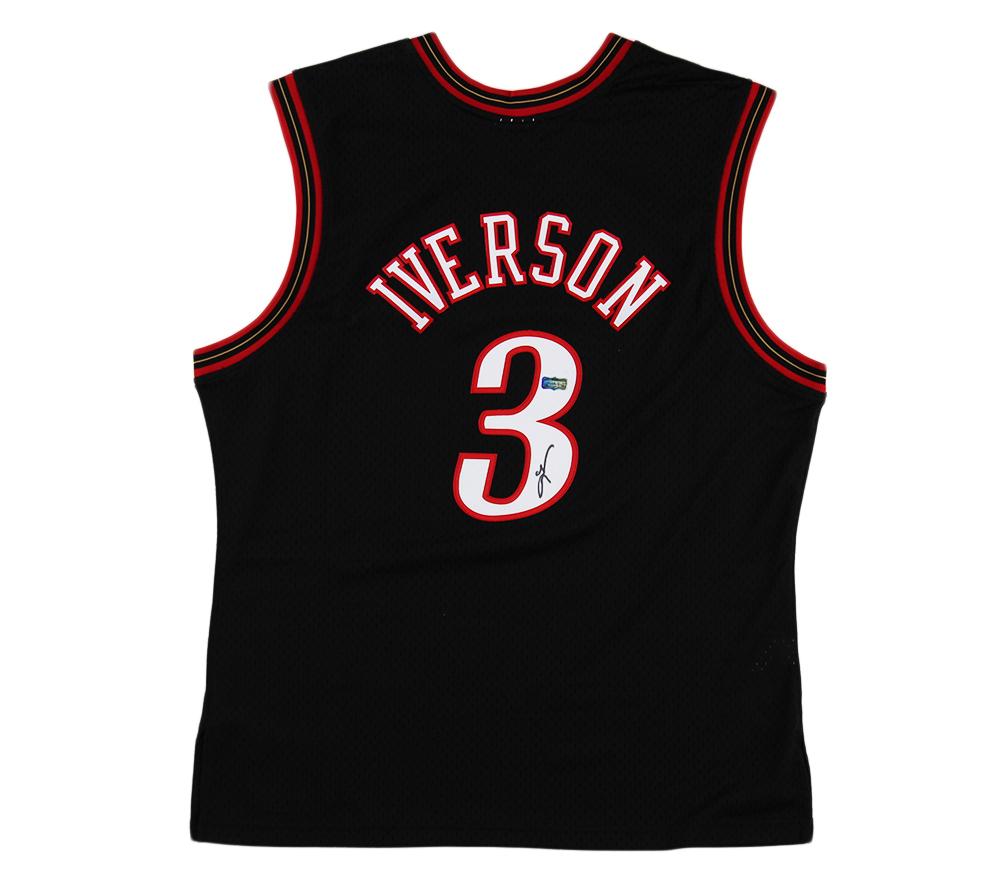 allen iverson black jersey