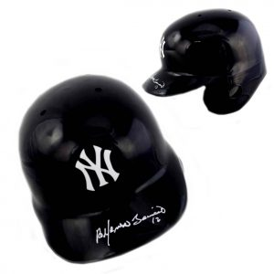 Alfonso Soriano Signed MLB New York Yankees Rawlings Batting Helmet-0