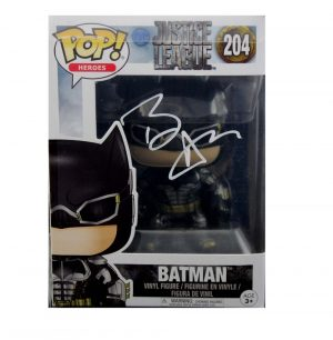 Ben Affleck Signed Funko Pop! Justice League Batman #204 Action Figure-0