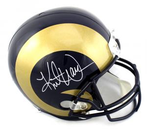 Kurt Warner Signed Los Angeles Rams Full Size Helmet-0