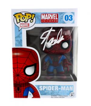 Stan Lee Signed Funko Pop! Marvel Universe Spider-Man #03 Action Figure-27145