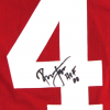 """Ronnie Lott Signed San Francisco 49ers Red Custom Jersey with """"HOF 00"""" Inscription-23396"""