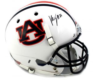 Kerryon Johnson Signed Auburn Tigers NCAA Schutt Full Size Helmet -0