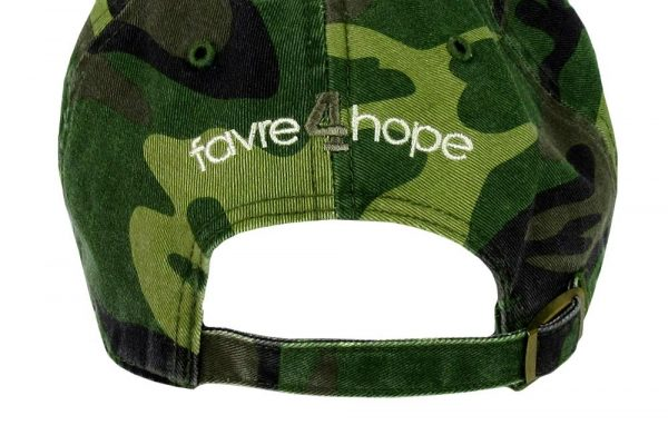 Official Favre 4 Hope Military Camo Adjustable Hat - One Size Fits All-18791