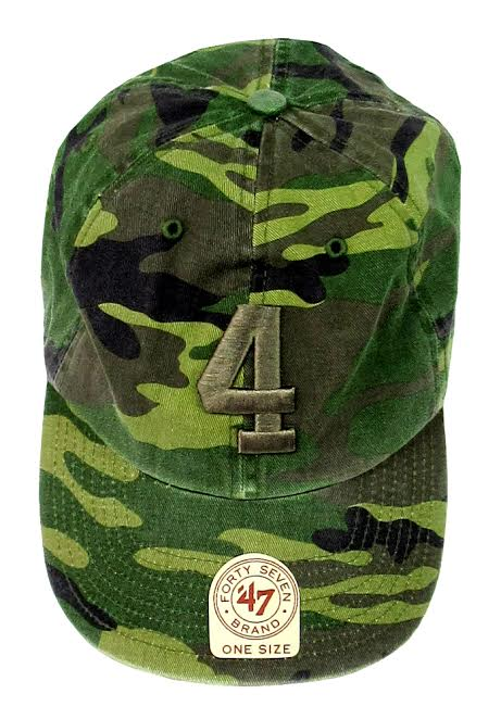 Official Favre 4 Hope Military Camo Adjustable Hat - One Size Fits All-0
