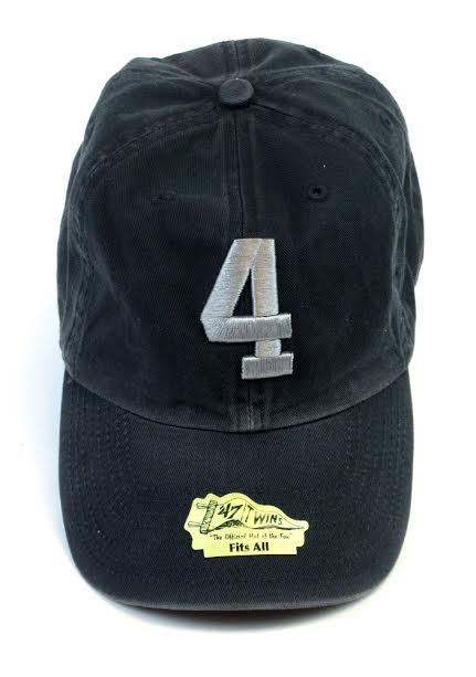 Official Favre 4 Hope Navy Blue Adjustable Hat - One Size Fits All-0