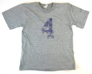 Official Favre 4 Hope Grey Youth T-Shirt - Purple #4-0