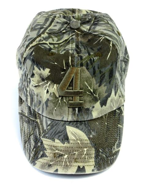 Official Favre 4 Hope Hunting Camo Adjustable Hat - One Size Fits All-0