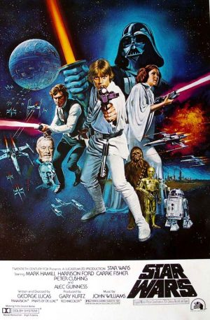 Star Wars Episode IV A New Hope 24x36 Movie Poster-0