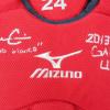Evan Gattis Signed MLB Atlanta Braves 2013 Game Used Mizuno Catchers Gear Set-26247