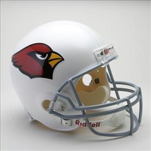 Arizona Cardinals Riddell Replica NFL Football Helmet [Misc.]-0