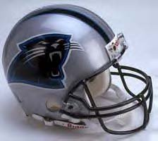Carolina Panthers Riddell Replica NFL Football Helmet -0