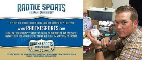 Craig Kimbrel Autographed/Signed Atlanta Braves 2011 All Star Official Rawlings Baseball-5992