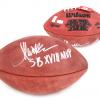 "Marcus Allen Signed Super Bowl 18 Authentic NFL Football with ""SB XVIII MVP"" Inscription - Oakland Raiders-0"