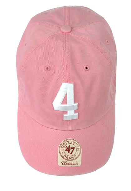 Official Favre 4 Hope Pink Adjustable Hat - One Size Fits All-18793