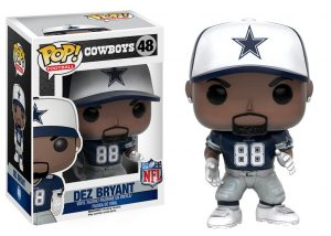Funko Pop! Sports Dallas Cowboys Dez Bryant #48 Officially Licensed In-Box NFL Action Figure-0