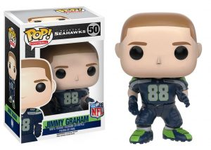 Funko Pop! Sports Seattle Seahawks Jimmy Graham #50 Officially Licensed In-Box NFL Action Figure-0