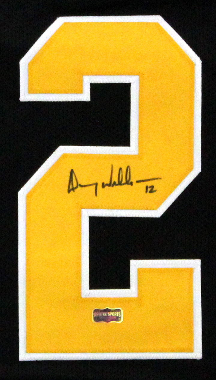 online retailer 344a8 16067 Doug Williams Signed Grambling State Tigers Throwback Custom Black Jersey