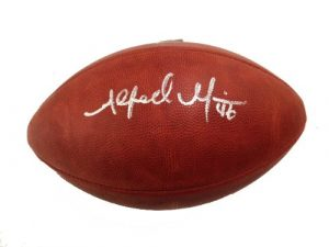 Alfred Morris Signed Authentic NFL Game Football Washington Redskins-0