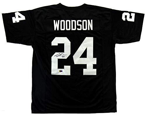 Charles Woodson Signed Las Vegas Custom Black Jersey
