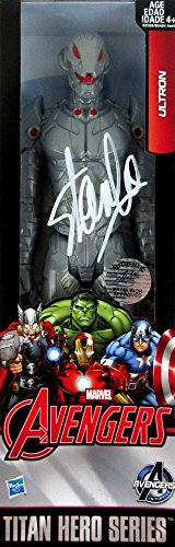 Stan Lee Autographed/Signed In-Box Ultron Avengers Assemble Series Marvel Action Figure Box-0
