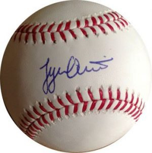 Tyler Austin Signed/Autographed Baseball New York Yankees-0