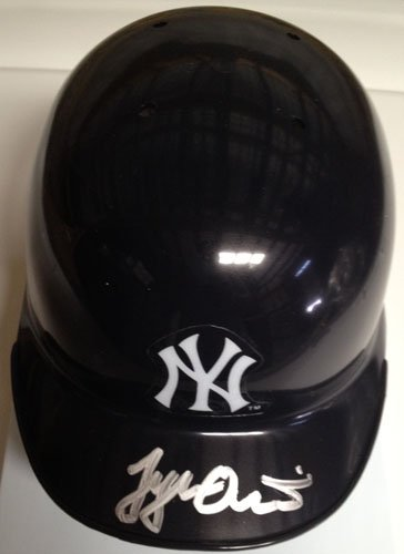 Tyler Austin Signed/Autographed Mini Helmet New York Yankees-0