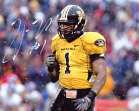 William Moore Signed/Autographed Missouri Tigers 8x10 Mizzou-0