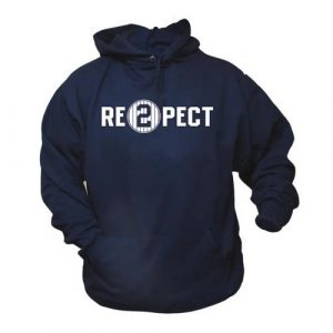 Vintage Farewell Captain RE2PECT Navy Blue New York Baseball Hoodie - Small-0