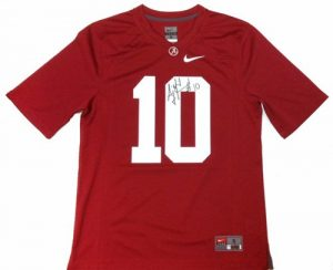 A.J. McCarron Autographed/Signed Alabama Crimson Tide Nike NCAA Jersey-0