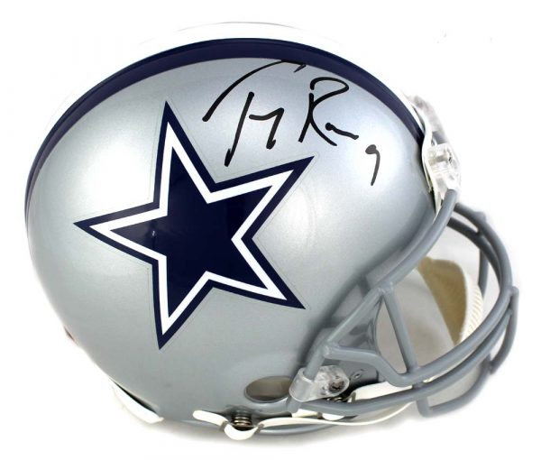 Tony Romo Autographed/Signed Dallas Cowboys Proline Helmet NFL-0