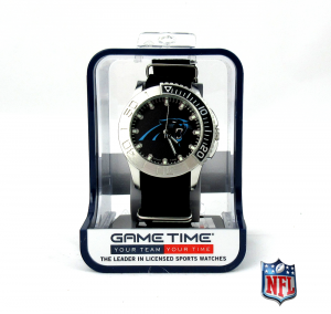 Carolina Panthers Officially Licensed NFL Men's Starter Watch-0