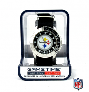 Pittsburgh Steelers Officially Licensed NFL Men's Starter Watch-0