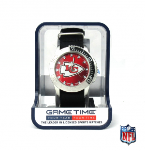 Kansas City Chiefs Officially Licensed NFL Men's Starter Watch-0