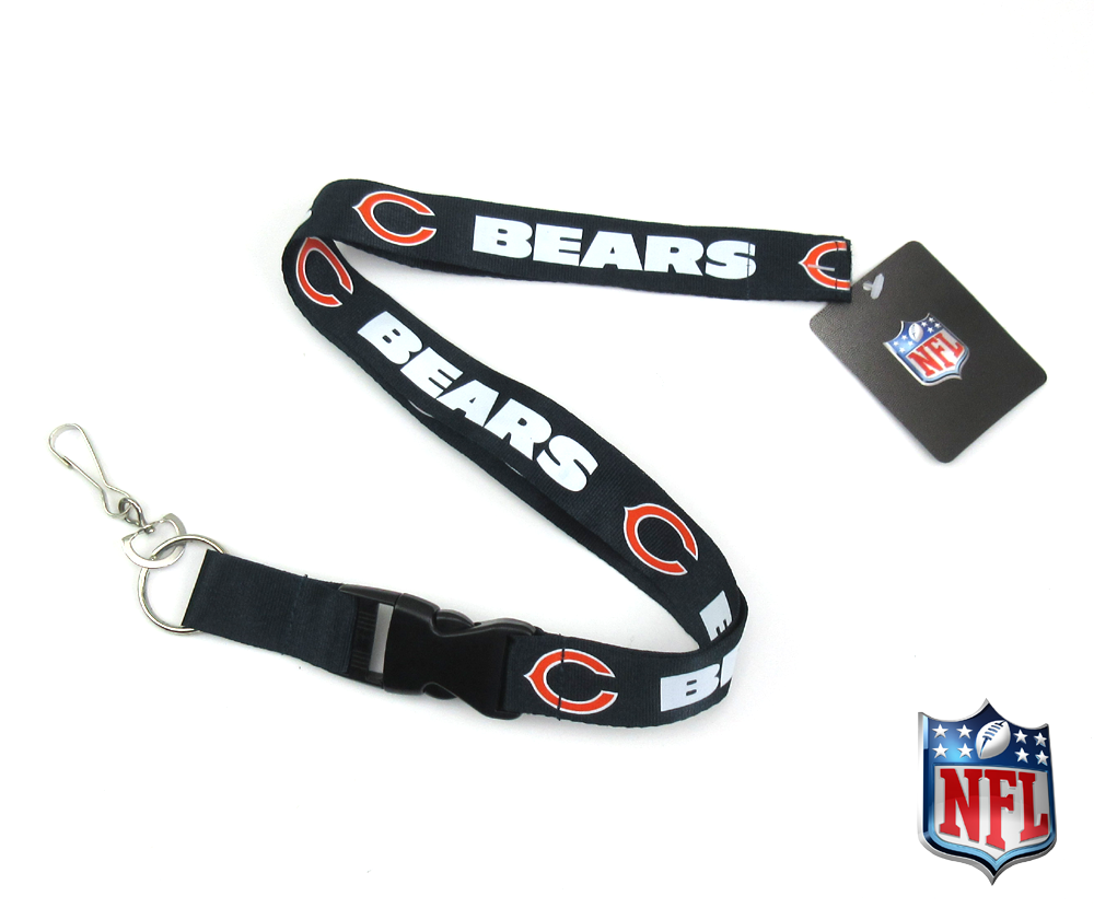 Chicago Bears Officially Licensed Nylon Lanyard