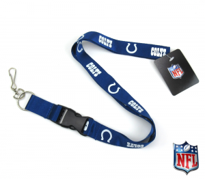 Indianapolis Colts Officially Licensed Nylon Lanyard-0