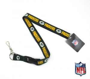Green Bay Packers Officially Licensed Nylon Lanyard-0
