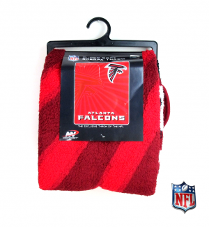 Atlanta Falcons Officially Licensed NFL Sherpa Throw Blanket-0