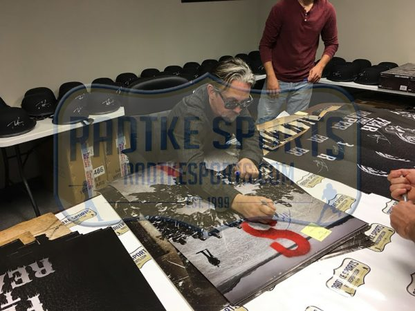 Tommy Flanagan Signed Sons Of Anarchy Circle Of Bikes Framed Poster-25041