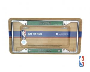 Boston Celtics Officially Licensed NBA EZ View Chrome Tag Frame-0