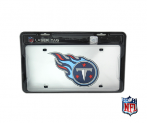 Tennessee Titans Officially Licensed NFL Fleur de Lis Mirror Laser Tag License Plate-0