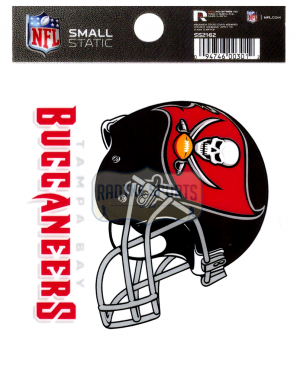 "Offically Licensed NFL Tampa Bay Buccaneers Small Static Cling 3.5"" X 4.5""-0"