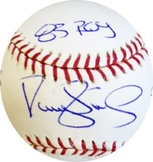 Darryl Strawberry Autographed/Signed Stat Baseball Limited Edition of 18-0