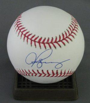 Alex Rodriguez Autographed MLB Baseball Yankees-0